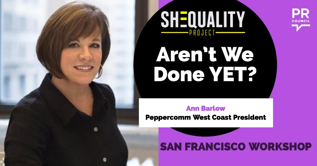 SHEQUALITY Workshop: Aren't We Done YET?